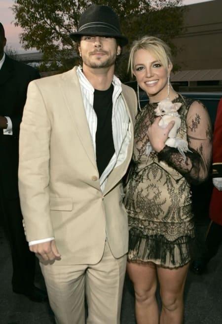 Бритни и ее муж