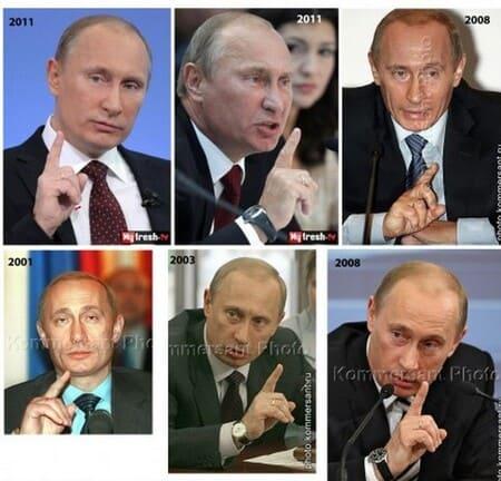 двойники Владимира Путина