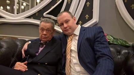 Николай Караченцов и сын Андрей