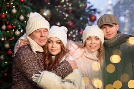 вторая жена Олега Газманова с мужем и детьми