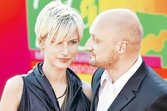 Гоша Куценко со второй женой
